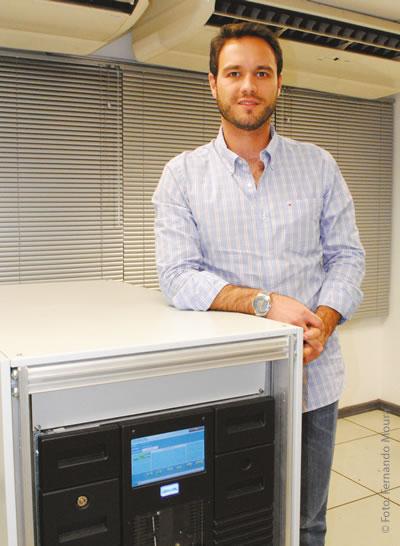 Giulio Breviglieri, gerente de operação e manutenção da EPTV